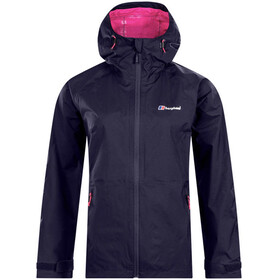 Berghaus Stormcloud Shell Jacket Women Evening Blue